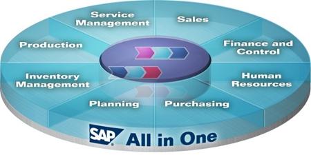 Os Principais Módulos SAP e seus Relacionamentos