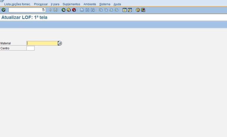 SAP MM – LOF (Lista de Opções de Fornecimento)